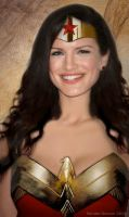 Gina Carano as Wonder Woman by renstar71