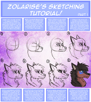Sketching Tutorial by Zolarise