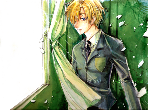 +_Art trade:Tamaki_+ by kinjiru006