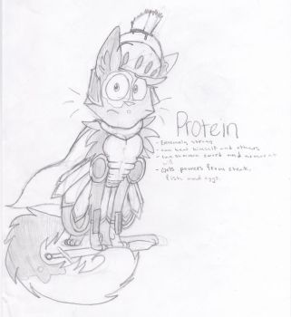 Health Project: PROTEIN by geckolover123