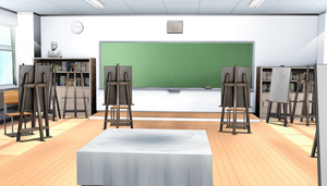 Art Classroom MMD - Download by cycypinkb