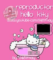Reproductor Hello Kitty de audio y video by may0487