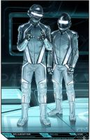 Tron concept art by Steve jung by Redenginestudios
