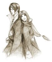 Request: OC Hitomi with Itachi by cho-zero