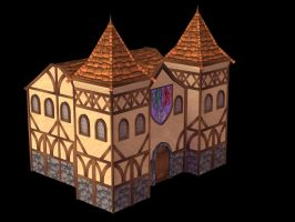 Medieval Embassy Building by Poopgoblyn