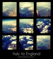 Italy to England by VooDooling