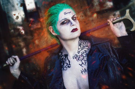 Cosplay: Joker by Abletodoall