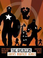 Avengers Poster by Geek-0
