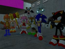 Sonic the Hedgehog in HD by GlitchyProductions
