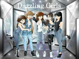 Dazzling SHINee Girls by Pulimcartoon