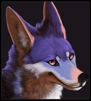 Azul badge by Keprion