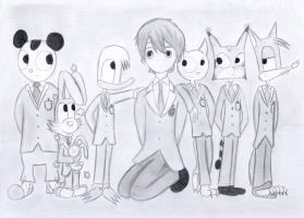 Dackey Duck Crossovers #2 (Ouran Host Club) by AndkeAnka