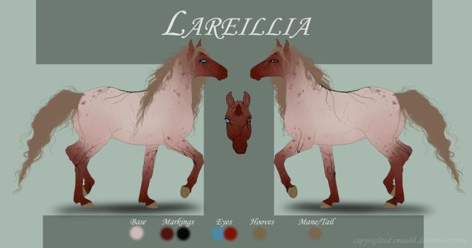 Lareillia Reference by Shenim