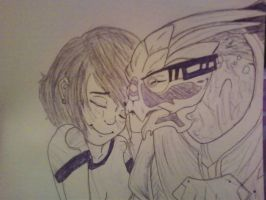 Garrus and I by Corinne-Ningyo