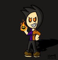 Spooky Dylan by 3DylanStar