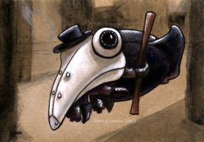 Plague Doctor by MegLyman