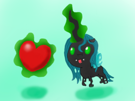 Chrysalis wants the love by Nazzaroth