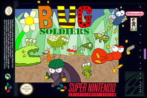 Bug Soldiers SNES Boxart by SuperAshBro