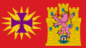 Flag of Spanish language by hosmich