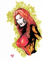 Poison Ivy Bust 2 cleaned version by guillomcool