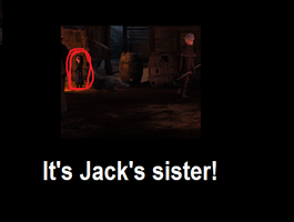 Sighting Of Jack's Sister Before The Memory Part by IceColdGirl123