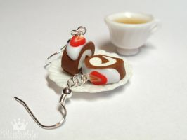 Chocolate roll miniature 1 by voodoogrl