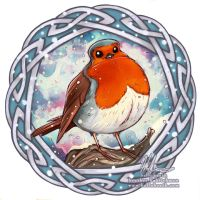 Robin Red Breast by helloheath