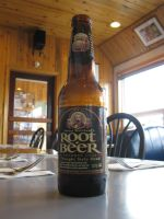 Bottle of Rootbeer by Sylzezter