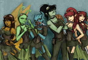 Fearsome Serpent Crew by PhantasmicDream