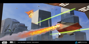 ILM - The Moment - Tatooine Dogfight by ApneicMonkey