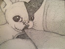 Stippling Puppy by ShinySmeargle