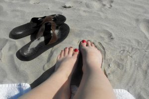 Toes in the Sand by Dani-the-Naiad