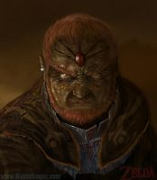 Lord Ganondorf by RoqueRobinArt