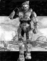 Master Chief by RobD4E