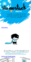 Homestuck OC Meme One! by SummerWish94