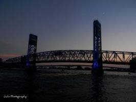 Main Street Bridge, Jacksonville, Florida by gdsbngd2me