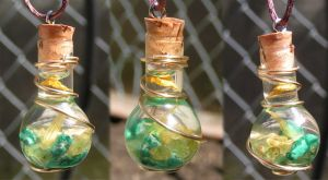 Magic Vial - Fresh Spring Pendant by Izile