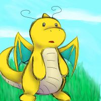 Dragonite by madkoog