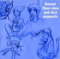 Recent Chee-chee and Jess Moments by Jessica-Rae-3