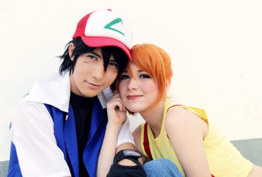 Ash Ketchum and Misty Pokemon Cosplay by SailorMappy
