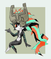 Midna by midwaymilly
