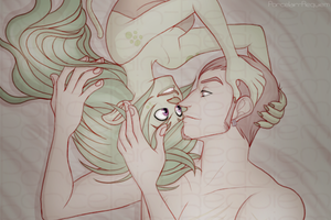 Bard+Thistle - Cuddles At Night by Porcelain-Requiem