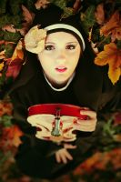 Autumn Music - nun by freemax
