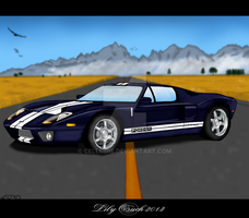 Ford GT '05 by Cellebre