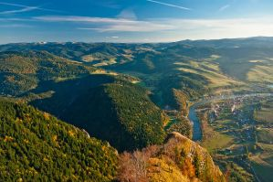 Pieniny mountains by siliel