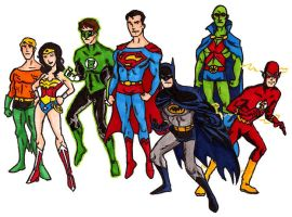 Justice League by Mbecks14