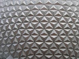 Epcot Spaceship Earth Stock 15 by AreteStock