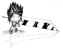 Little Big Sword - ink by teamzoth