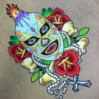 Luchador by Johnny-Gruesome-Art