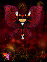 Butterfly of Darkness by Azurelly